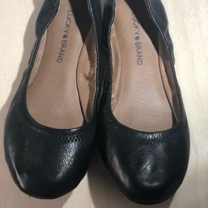 Lucky Brand ~Erin Leather Ballet Flats ~ Size 7.5